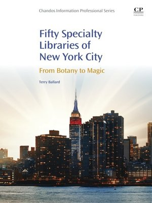 cover image of 50 Specialty Libraries of New York City