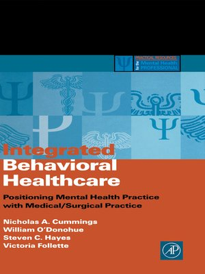 cover image of Integrated Behavioral Healthcare