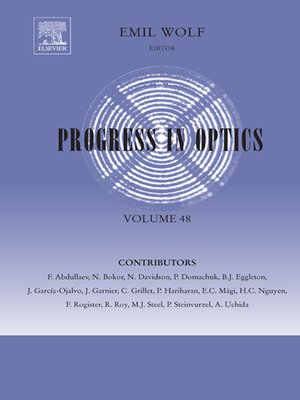 cover image of Progress in Optics