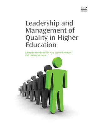cover image of Leadership and Management of Quality in Higher Education
