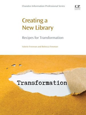 cover image of Creating a New Library