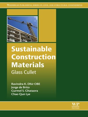 cover image of Sustainable Construction Materials