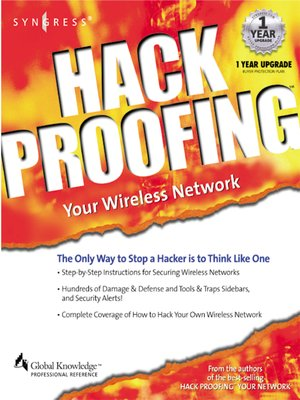 cover image of Hackproofing Your Wireless Network