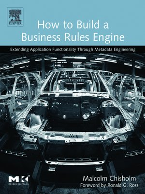 cover image of How to Build a Business Rules Engine