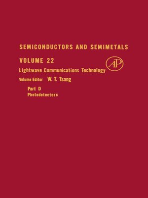 cover image of Semiconductors and Semimetals