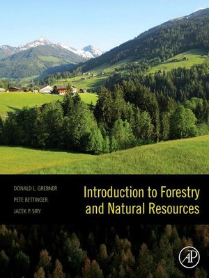 cover image of Introduction to Forestry and Natural Resources