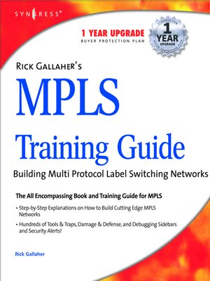 cover image of Rick Gallahers MPLS Training Guide
