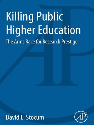 cover image of Killing Public Higher Education