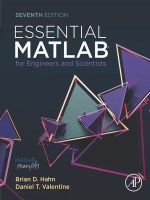 cover image of Essential MATLAB for Engineers and Scientists