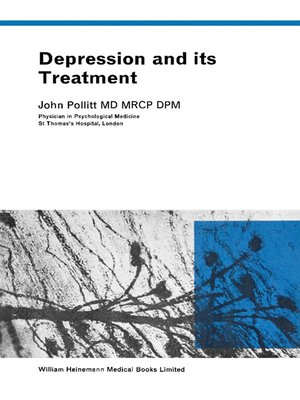 cover image of Depression and Its Treatment