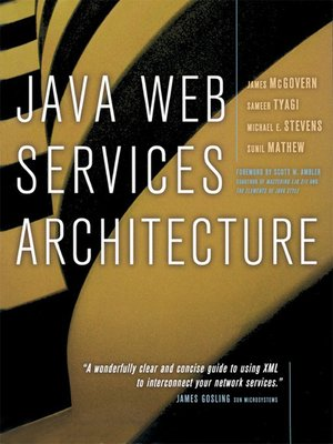 cover image of Java Web Services Architecture