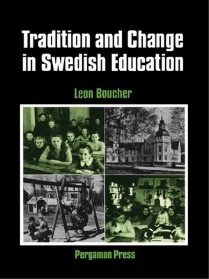 cover image of Tradition and Change in Swedish Education