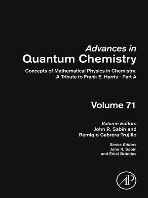 cover image of Concepts of Mathematical Physics in Chemistry