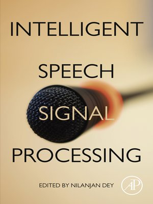 cover image of Intelligent Speech Signal Processing