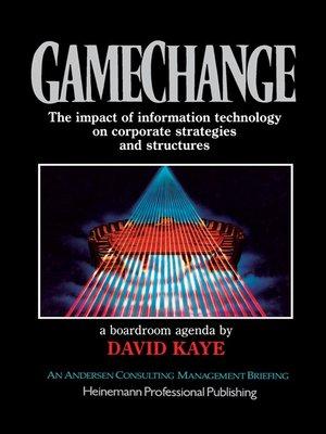 cover image of Gamechange, a Boardroom Agenda