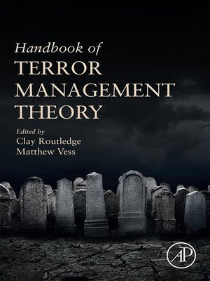 cover image of Handbook of Terror Management Theory