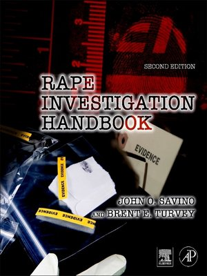 cover image of Rape Investigation Handbook