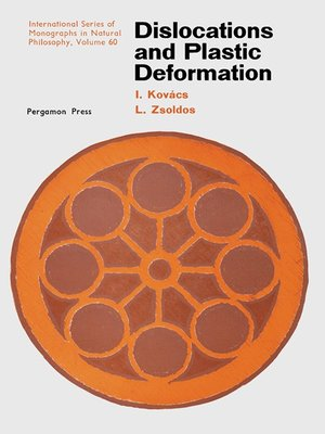 cover image of Dislocations and Plastic Deformation