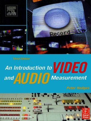 cover image of An Introduction to Video and Audio Measurement