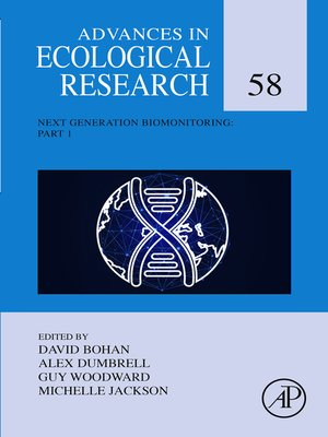cover image of Advances in Ecological Research, Volume 58