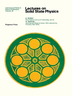 cover image of Lectures on Solid State Physics