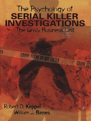 cover image of The Psychology of Serial Killer Investigations