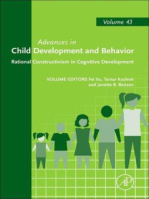 cover image of Advances in Child Development and Behavior, Volume 43