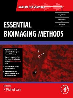 cover image of Essential Bioimaging Methods