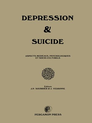 cover image of Depression and Suicide