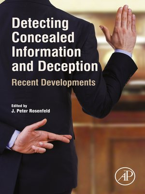 cover image of Detecting Concealed Information and Deception