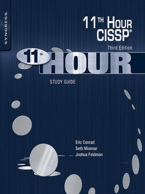 cover image of Eleventh Hour CISSP®
