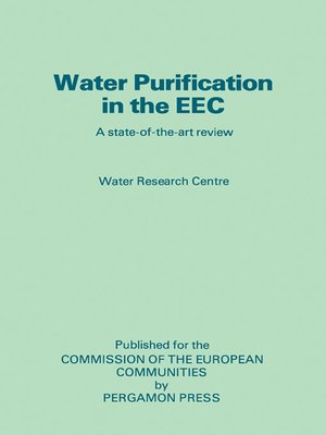 cover image of Water Purification in the EEC