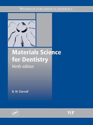 cover image of Materials Science for Dentistry