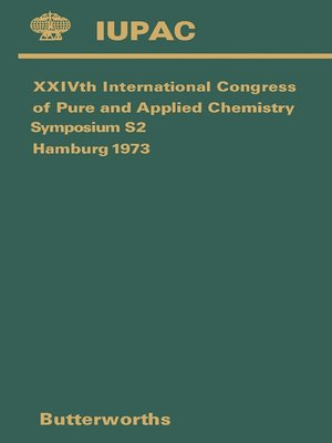 cover image of XXIVth International Congress of Pure and Applied Chemistry