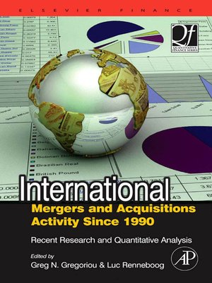 cover image of International Mergers and Acquisitions Activity Since 1990