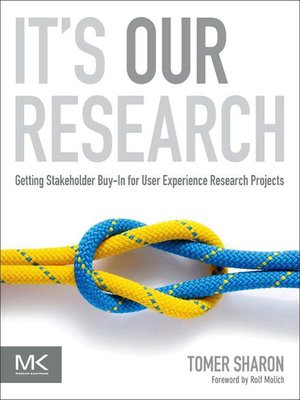 cover image of It's Our Research