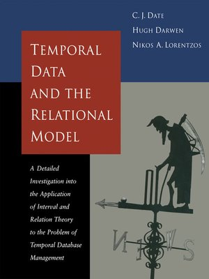 cover image of Temporal Data & the Relational Model