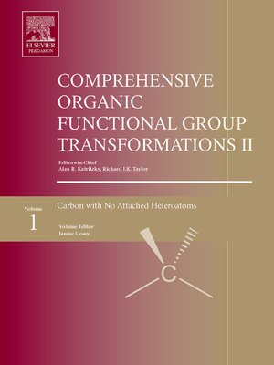 cover image of Comprehensive Organic Functional Group Transformations II