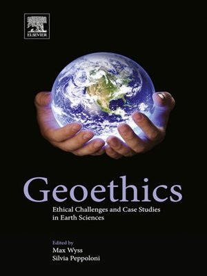 cover image of Geoethics