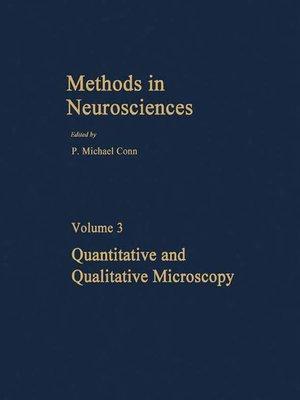 cover image of Quantitative and Qualitative Microscopy