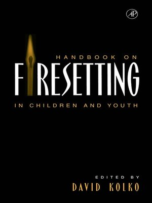 cover image of Handbook on Firesetting in Children and Youth