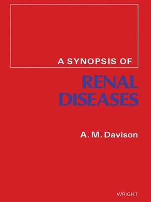 cover image of A Synopsis of Renal Diseases