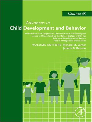 cover image of Advances in Child Development and Behavior, Volume 45