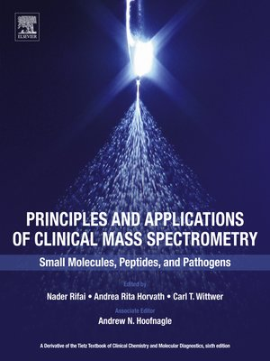 cover image of Principles and Applications of Clinical Mass Spectrometry