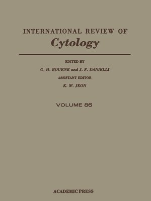 cover image of International Review of Cytology, Volume 86
