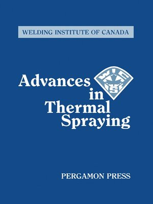 cover image of Advances in Thermal Spraying