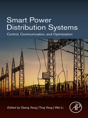 cover image of Smart Power Distribution Systems