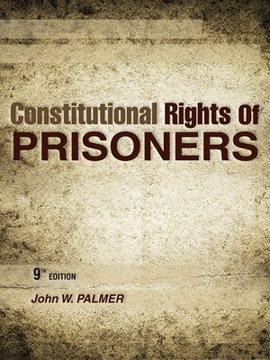cover image of Constitutional Rights of Prisoners