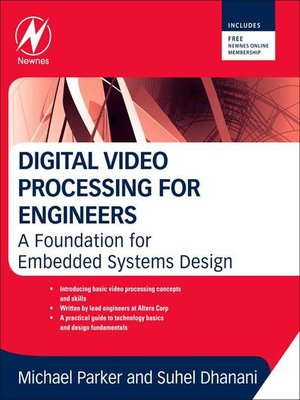 cover image of Digital Video Processing for Engineers