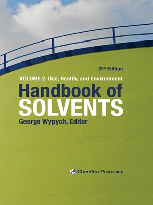 cover image of Handbook of Solvents, Volume 2